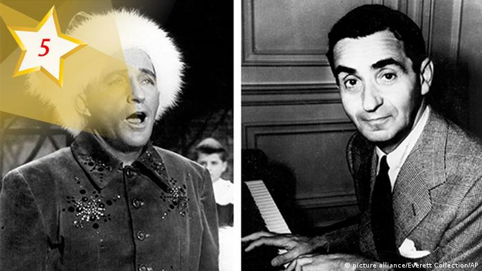 05 Kultur-Adventskalender 2017 Irving Berlin und Bing Crosby (picture alliance/Everett Collection/AP)