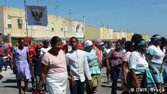 Portugal Menschen aus Sao Tome und Principe in Lissabon