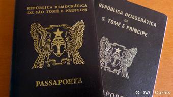 Sao Tome und Principe Reisepässe