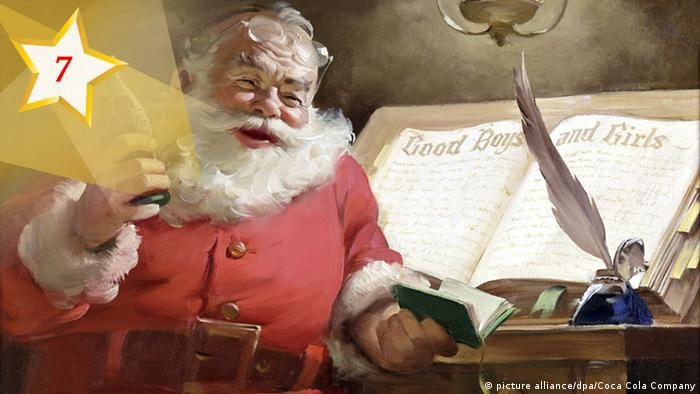 07 Kultur-Adventskalender 2017 Santa Claus (picture alliance/dpa/Coca Cola Company)