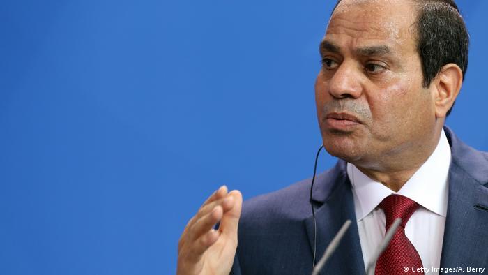 Deutschland Ägyptischer Präsident Al-Sisi (Getty Images/A. Berry)