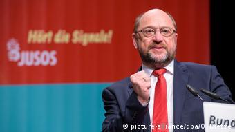 Saarbrücken Juso Bundeskongress Martin Schulz