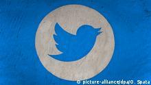 Das Logo des Kurznachrichtendienstes Twitter