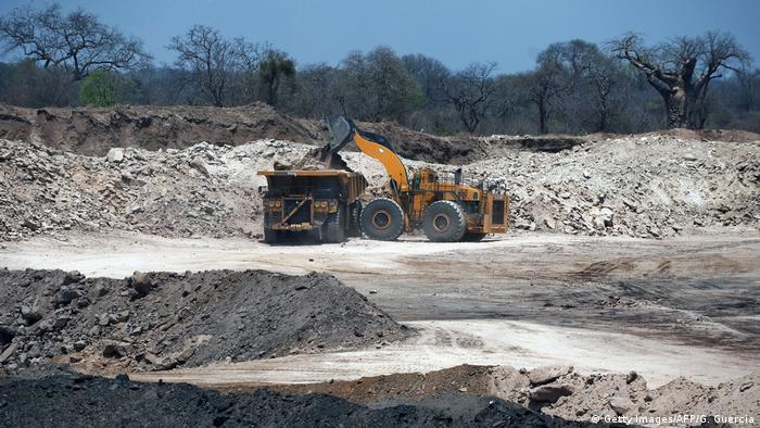 Mosambik Tete Kohleabbau (Getty Images/AFP/G. Guercia)