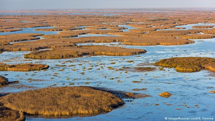 Russland Wolga Delta