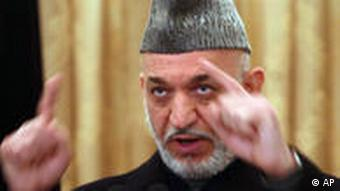 Hamid Karzai PK in Kabul