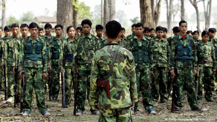 Nepal People's Liberation Army PLA (Getty Images/AFP/W. Vatsayana)