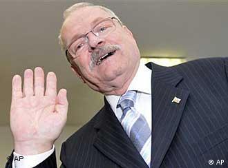 Slovak President Ivan Gasparovic