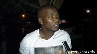 Mosambik Musiker Simate Mapope
