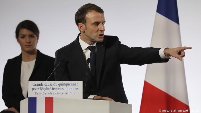 Emmanuel Macron (picture-alliance/AP Images)