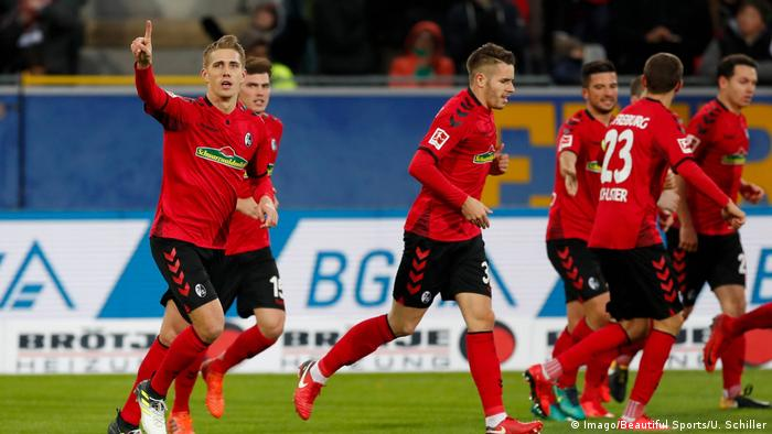 Fußball Bundesliga SC Freiburg - FSV Mainz 05 (Imago/Beautiful Sports/U. Schiller)