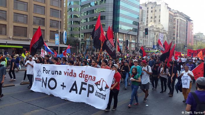 Chile Demonstration (DW/S. Spröer)