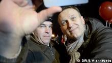 Alexej Nawalny Demo in Nishny Novgorod