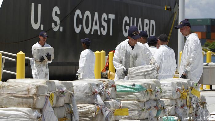 The US has assisted Honduran authorities to capture tons of cocaine passing through the country