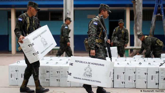 Honduras vor den Wahlen (Reuters/E. Garrido)