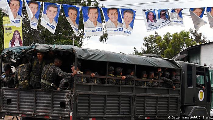 Honduras vor den Wahlen (Getty Images/AFP/O. Sierra)