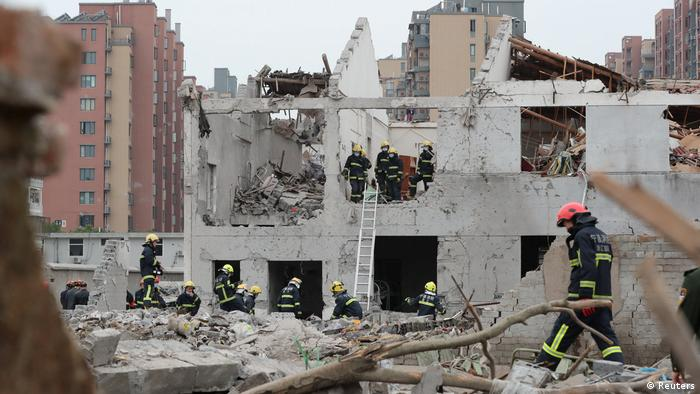 Explosion in Ningbo, China (Reuters)