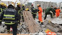 China Explosion in Ningbo