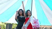 Schönheitswettbewerb im Talavera Bruce-Frauengefängnis in Rio de Janeiro
