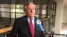Antonio Tajani, Präsident EP, Brüssel, 23.11.17