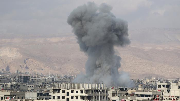 Luftangriffe in Ostghouta Ostghuta (picture-alliance/abaca)