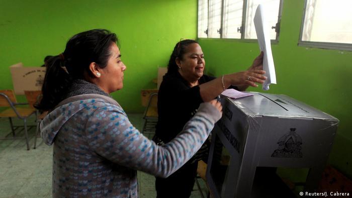 Präsidentschaftswahlen in Honduras (Reuters/J. Cabrera)