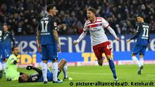 Deutschland Hamburger SV vs. TSG Hoffenheim - Bundesliga Eigentor