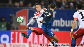 Deutschland Hamburger SV vs. TSG Hoffenheim - Bundesliga (picture-alliance/dpa/D. Reinhardt)