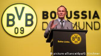 Hans-Joachim Watzke Mitgliedsversammlung des BV. Borussia 09 e.V. Dortmund