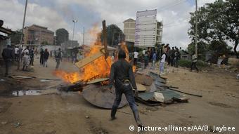 Kenia Nairobi Ausschreitungen Opposition