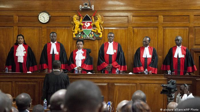 Kenia Supreme Court Richter Wahlen (picture alliance/AP Photo)