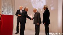 26.11.2017, Köln Joachim Gauck und Lew Gudkow. Verleihung des Lew-Kopelew-Preises.