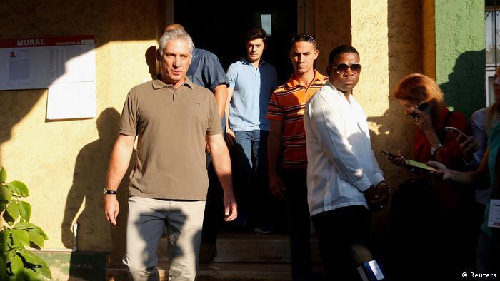 Kuba Wahlen Miguel Diaz-Canel