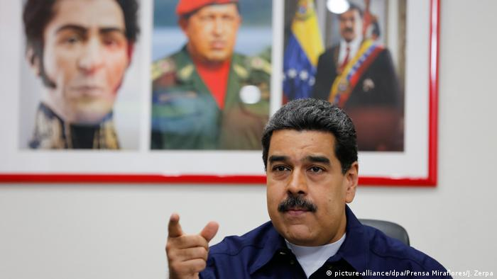 Nicolas Maduro's presidency has been plagued by violent protests calling for him to step down