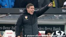 Fußball Hannes Wolf (Trainer VfB Stuttgart) (picture-alliance/HMB Media/H. Becker)