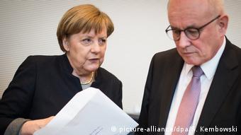 Berlin Merkel and Kauder