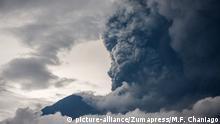 Indonesien Bali Ausbruch des Vulkans Mount Agung