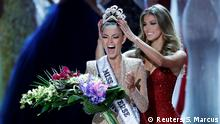USA Las Vegas Miss Universe 2017 Gewinnerin Demi-Leigh Nel-Peters