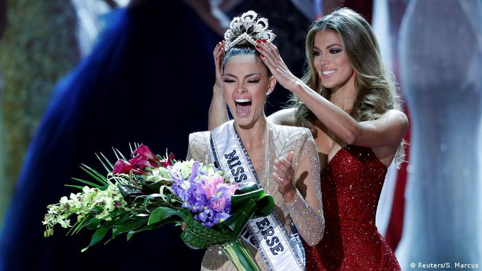 USA Las Vegas Miss Universe 2017 Gewinnerin Demi-Leigh Nel-Peters (Reuters/S. Marcus)