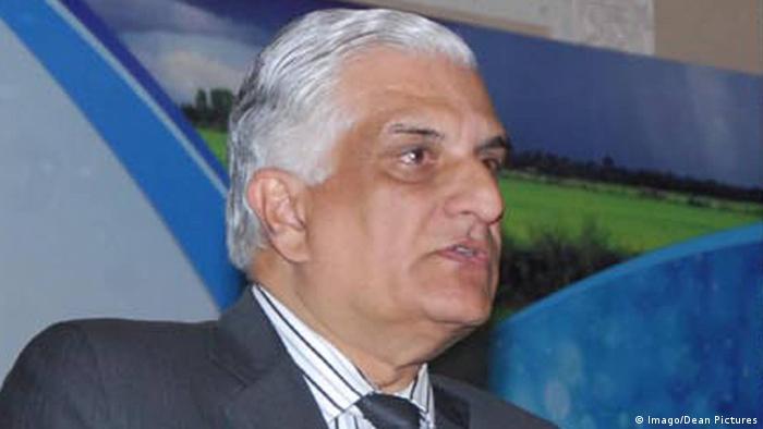 Pakistan Politiker Zahid Hamid (Imago/Dean Pictures)