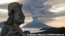 Indonesien Bali Vulkan Agung