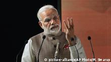 Narendra Modi (picture-alliance/AP Photo/M. Swarup)