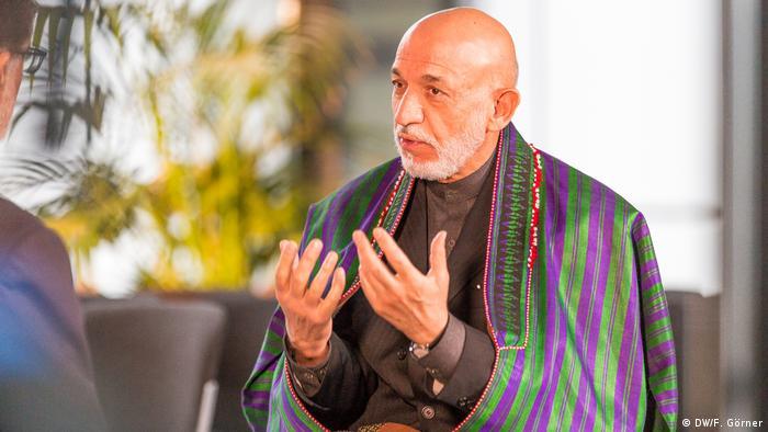 Deutsche Welle Bonn | Hamid Karzai, ehemaliger Präsident Afghanistans (DW/F. Görner)