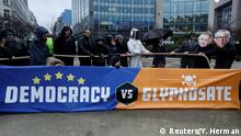 Belgien Proteste gegen Glyphosat in Brüssel