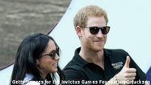 Großbritannien Prinz Harry und Meghan Markle