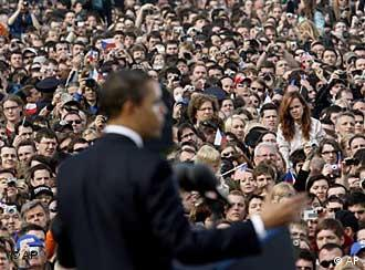 Barack Obama in Prag (Foto: AP)