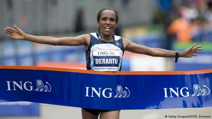 Derartu Tulu New York City Marathon 2009