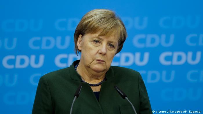 Berlin CDU Pressekonferenz GroKo Merkel