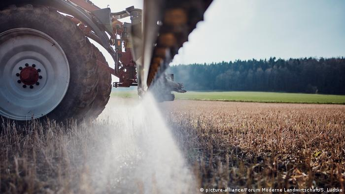 Glyphosate is used on approximately 40 percent of Germany's arable lands to make farming easier