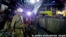 Polen Kohlebergwerk in Kattowitz